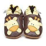 Suaves Zapatos De Cuero Del Bebé Jirafa 12-18 meses