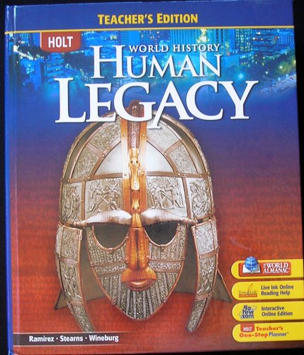 2008 World History Human Legacy, Teacher Edition