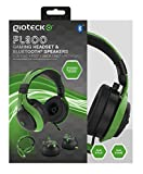 Gioteck FL300 Wired Stereo Headset with Removable Bluetooth Speakers - Green (Xbox One/PS4/Playstation Vita/Mac/PC DVD)