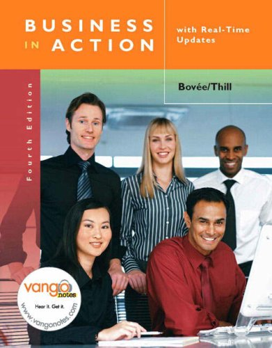 Business in Action with Real Time Updates (4th Edition)