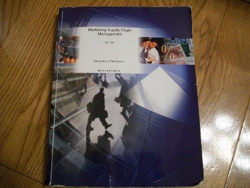 Marketing Supply Chain Management MKT 300