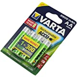 Varta batería acumulador Rechargeable Accu Mignon AA Ready 2 Use NiMH 2600mAh 5716 - 4er