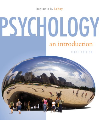Psychology: An Introduction, Author: Benjamin Lahey - StudyBlue