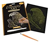 Royal & Langnickel Gold Engraving Art A4 Size Eagles Designed Painting Set
