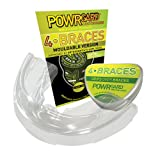 POWRGARD 4 Braces Mouldable Gumshield Clear