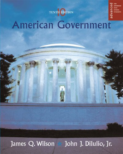 American Government: Institutions and Policies (Advanced Placement Edition)