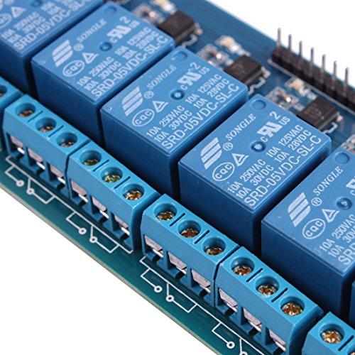 SainSmart 8 Channel 5V Solid State Relay Module - eBay