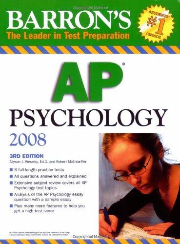 Barron's AP Psychology