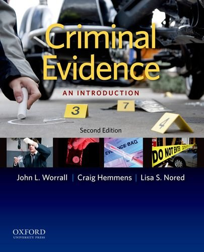 Criminal Evidence: An Introduction