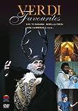 Verdi Favourites [Reino Unido] [DVD]