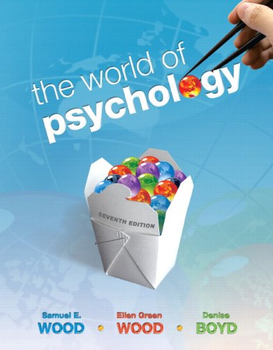World of Psychology, The (7th Edition) (MyPsychLab Series)