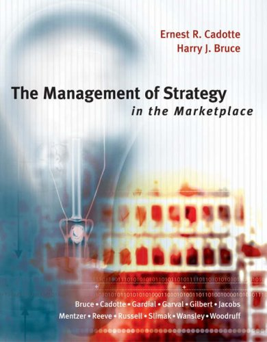 Management of Strategy in the Marketplace