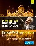Verdi:Messa Da Requiem [Norma Fantini; Anna Smirnova; Francesco Meli; Rafal Siwek; Symphonica Toscanini' CoroDel Maggio Musicale Fioentino] [EUROARTS: BLU RAY] [Blu-ray] [2012] [Region Free]