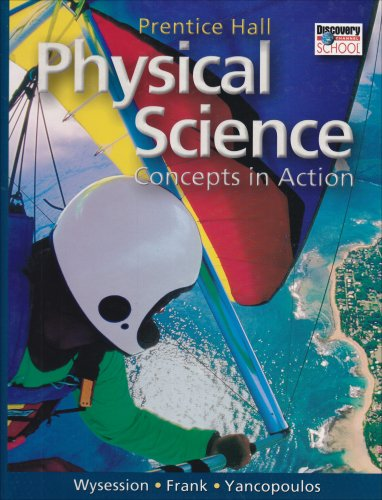 Prentice Hall Physical Science Concepts In Action Author