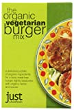 Just Wholefoods Organic Vegetarian Burger Mix 125 g (Pack of 6)