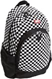 Vans Van Doren Backpack, Black/White Check, Medium