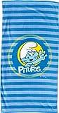 United Labels  803129 Puffi United Telo Mare Puffo 150 x 75 centimetri
