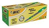 BiC Technolight Highlighter Pen (Box of 12) - Green