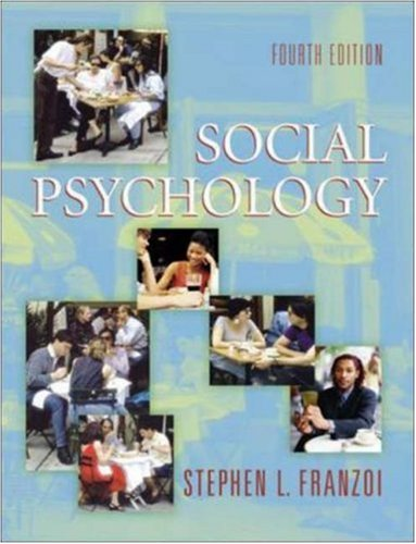Social Psychology with SocialSense CD-ROM and PowerWeb