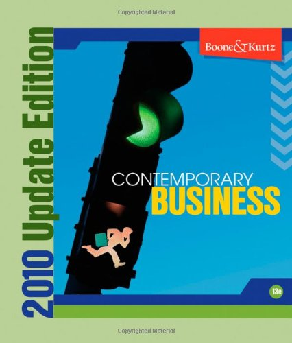 Contemporary Business 2010 Update
