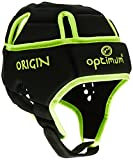 Optimum Men's Origin Protective Head Guard - Black/Fluorescent Yellow, Large