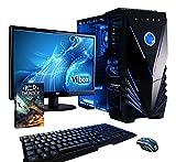 Vibox Standard PC da Gaming, Processore AMD A8 Quad-Core, RAM 8GB, HDD da 1TB, Scheda Grafica AMD Radeon R7, Blu