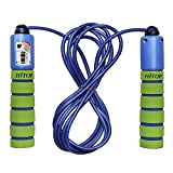 Hitop Adjustable Light Jump Rope For Kids, Skipping Ropes with Counter and Comfortable Handles, for Exercise, Crossfit, Boxing, Workout and Fitness