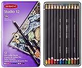 Derwent Studio Colouring Pencils Tin (Set of 12)