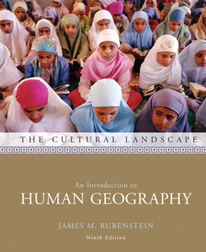Introduction an cultural geography landscape human pdf to the