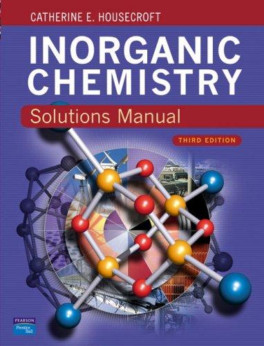 Solutions Manual Inorganic Chemistry 3e