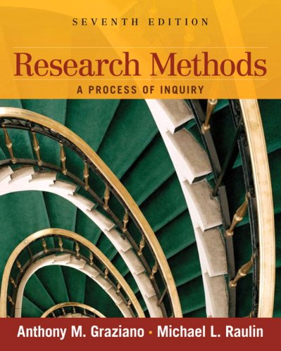 Research Methods: A Process of Inquiry (7th Edition)