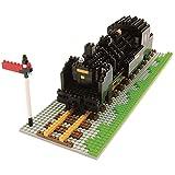nanoblock 58514369 - Juego De Construcción Locomotora Vapor