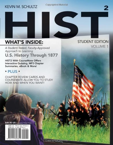 HIST: Volume 1 (with History CourseMate with eBook Printed Access Card)