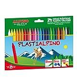 Alpino PA000024 - Box of 24 Wax Crayons