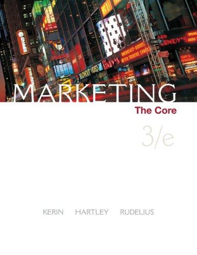 Marketing the core author roger kerinsteven hartleywilliam marketing the core fandeluxe Images