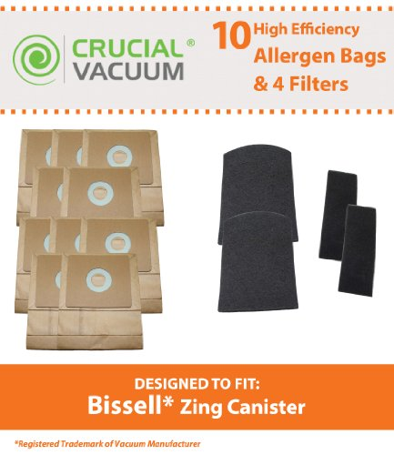 50 x 3 Pack of Bissell Style Zing 7100 7100L Micro Allergen Vacuum Cleaner Bags