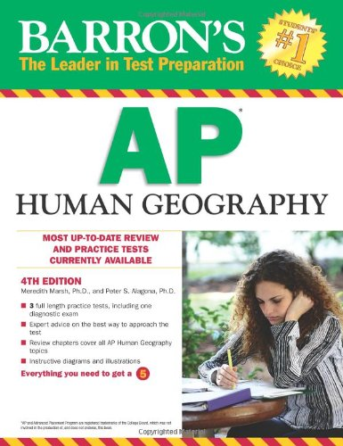 Barron's AP Human Geography, 4th Edition