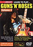 Lick Library: Learn To Play Guns 'N' Roses - Volume 2 (2DVD set). Pour Guitare