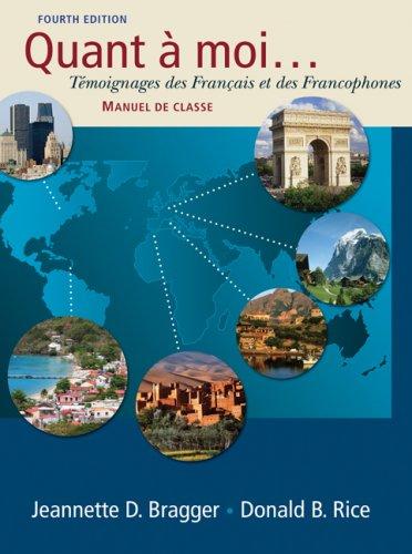 Quant a moi...: Tmoignages des Franais et des Francophones (with Audio CD)
