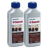 Philips Saeco - Líquido antical para cafeteras (250 ml, 2 unidades)