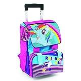 My Little Pony - Rainbow Dash Zaino/Trolley Estensibile con Gadget