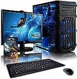 """Vibox Extreme Pacchetto 1 Gaming PC con Gioco War Thunder, 21.5"""" HD Monitor, 4.2GHz AMD FX Quad Core Processore, nVidia GeForce GTX 960 Scheda Grafica, 1TB HDD, 8GB RAM, Case Tactician, Neon Blu"""