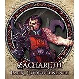Juegos de EE.UU. - Descenso tablero de juego, teniente Zachareth, accesorios para Descent