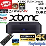 Android TV BOX MXQ With Built In Channel Updater, Quad Core Speed, XBMC Media Player - Free Movies and TV Comes Fully Loaded AA Streams, Icefilms, UK Seller