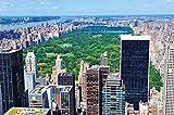 Nueva York Central Park Papel pintado de fotografía - Manhattan decoración de la pared - XXL cartel Central Park en Nueva York - decoración de la pared 210 cm x 140 cm