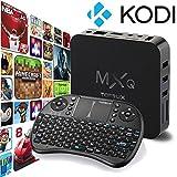 [Free Wireless Mini keyboard] Tonbux ® Quad Core MXQ Smart TV BOX Mini PC Streaming Media Player with KODI(XBMC) Streamer 1GB/8GB, Fully Loaded,Google Android 4.4 KitKat,CPU Amlogic S805, 1.5 GHz