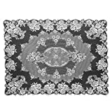 Heritage Lace Victorian Rose 60-Inch by 84-Inch Tablecloth, Ecru