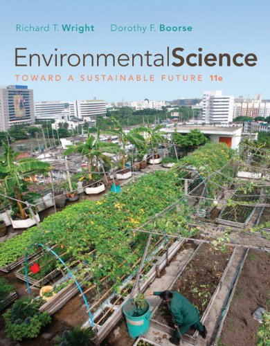 9780321598707: environmental science: toward a sustainable future.