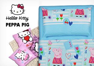 Copriletto Trapuntato Hello Kitty.Peppa Pig And Hello Kitty Shopping Italia Stile Itstile Com