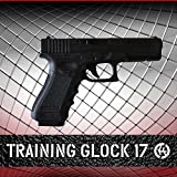 Training Rubber Glock 17 original size with Active Trigger